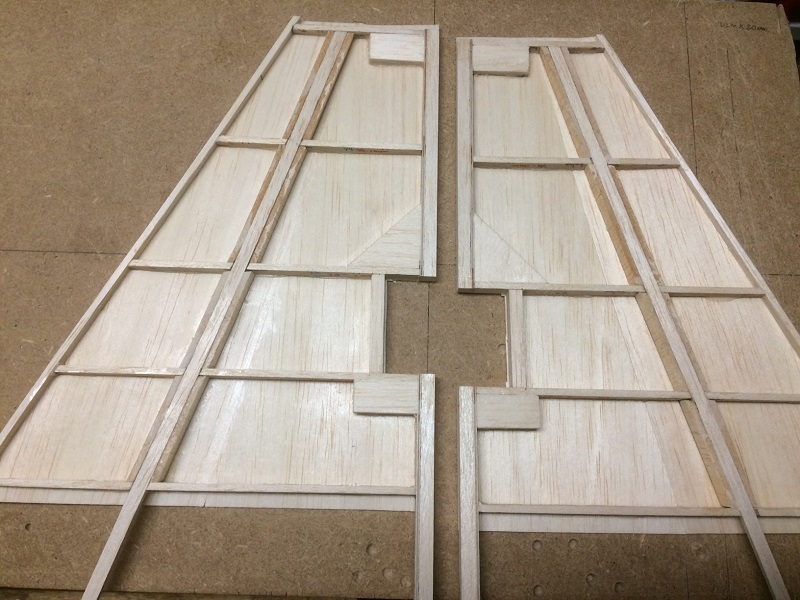 144 the two vert stab halves ready for glueing.jpg