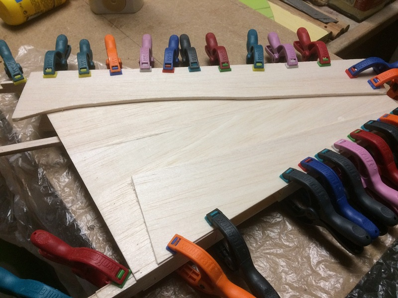 145 glueing together of the two vert stab halves.jpg