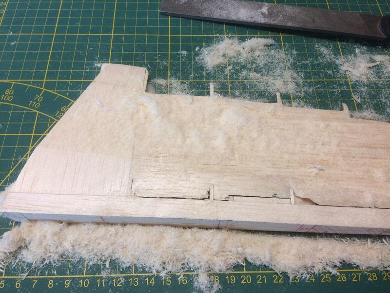 152 sanding rudder leading edge side.jpg