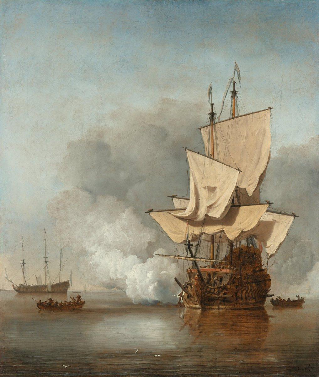 Het Kanonschot - Willem van de Velde.jpg