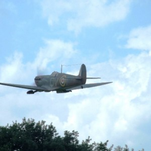 Spitfire Mk Ia (2007 - Fly in MASH)